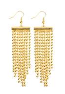 www.sayila-perlen.de - Brass Ohrringe (Messing) DQ 9,3x2cm - 35973