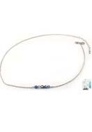www.sayila.fr - DoubleBeads Mini Kit de Bijoux collier ± 50-59cm avec SWAROVSKI ELEMENTS perles et accessoires diverses de métal - DM1127